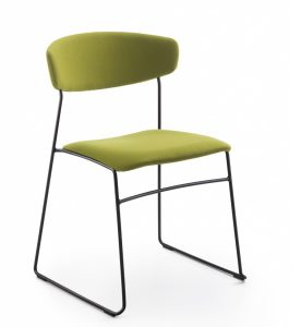Wolfgang Metal Chair (Fabric) 1